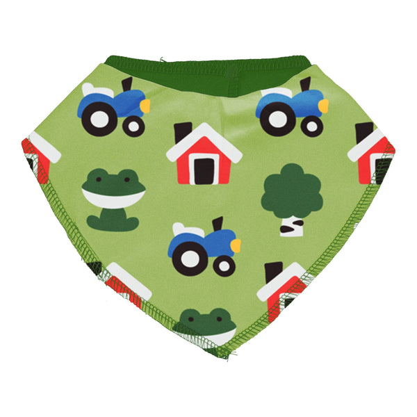 Farm forest dribble bib Maxomorra