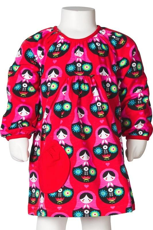 Puffy body dress matryoshka