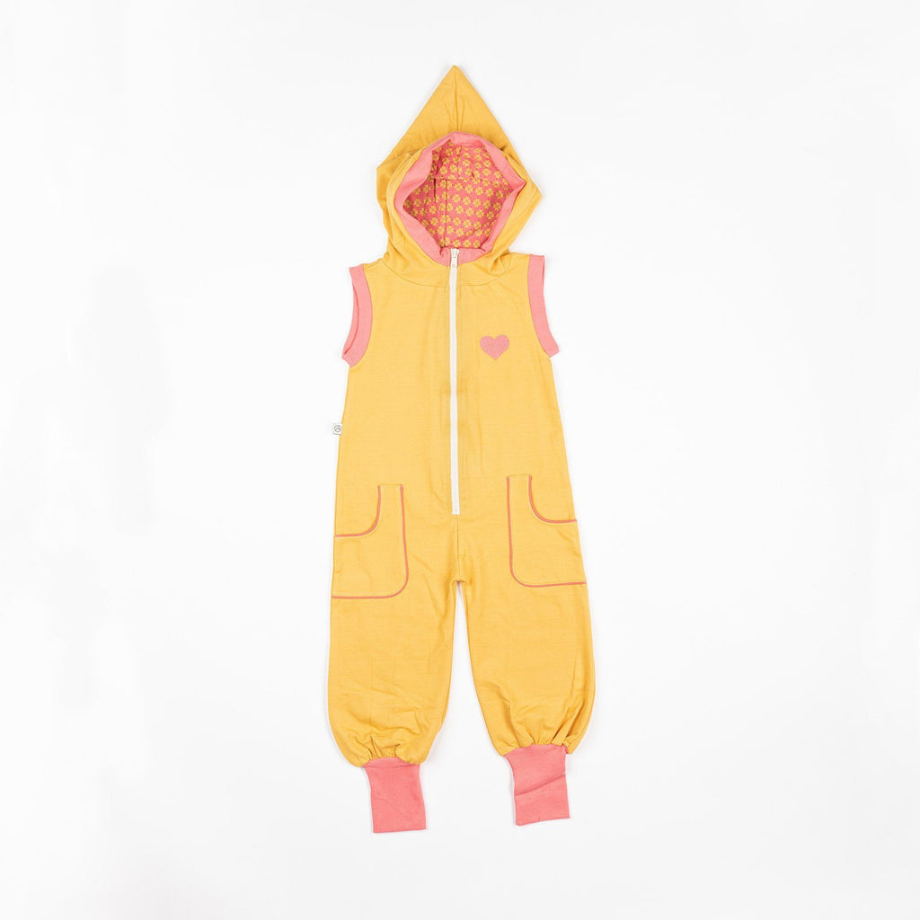 Mio jumpsuit bright gold AlbaBaby Playsuit Alba of Denmark