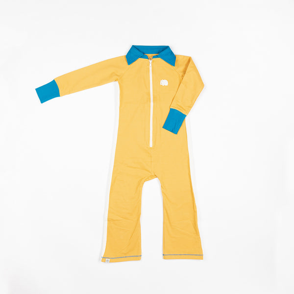 Lamar flipsuit bright gold AlbaBaby