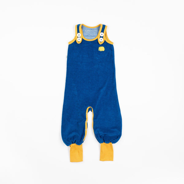 Happy crawlers snorkel blue AlbaBaby Dungarees Alba of Denmark
