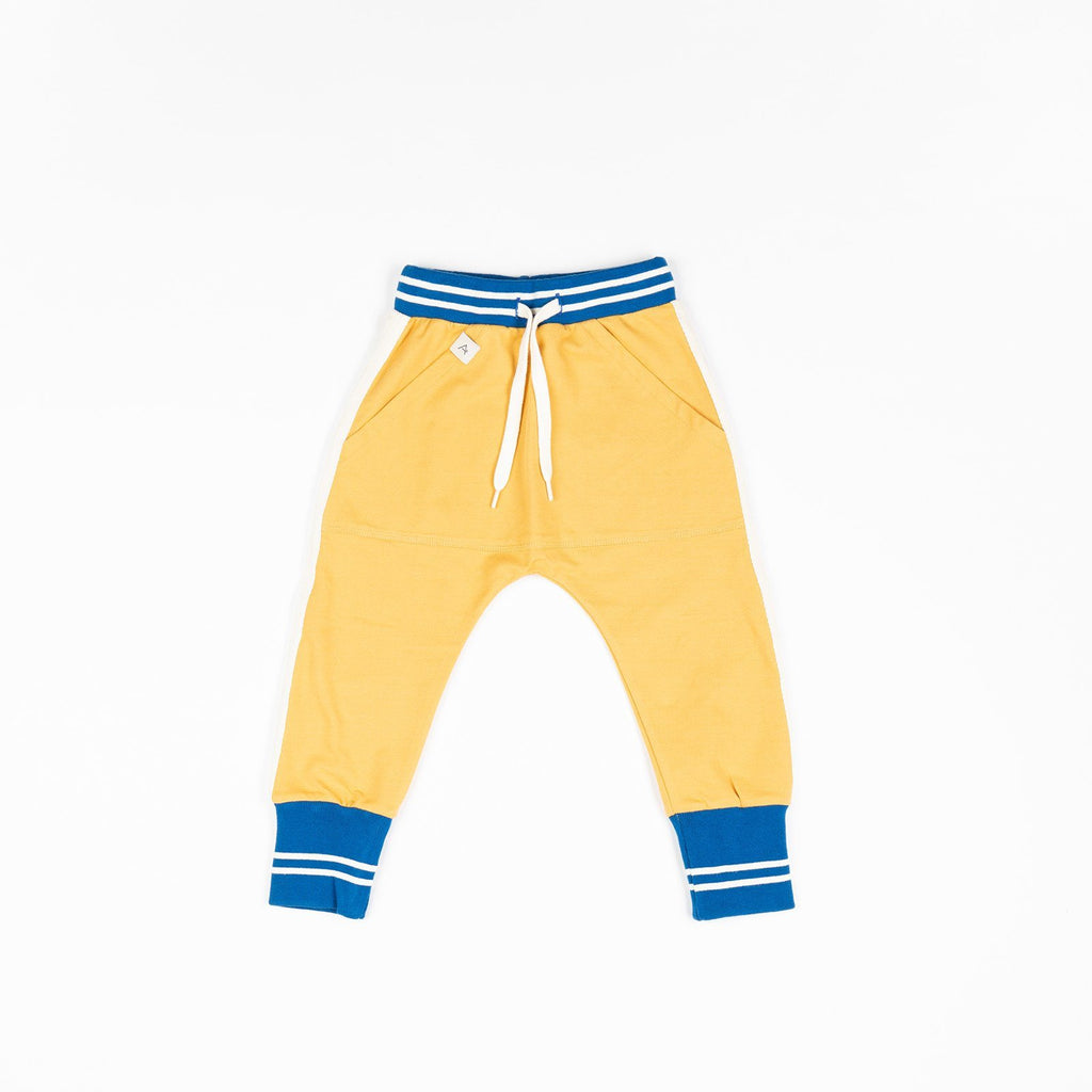 Mason pants bright gold AlbaBaby Bottoms Alba of Denmark