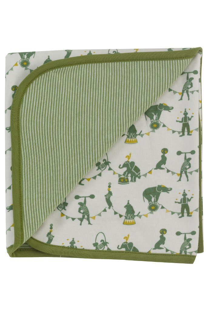 Circus blanket - green