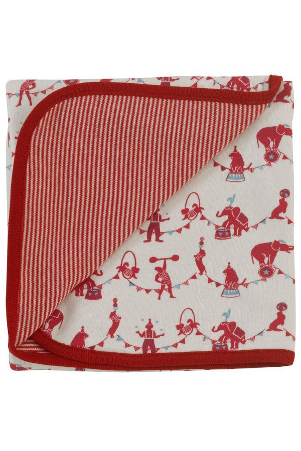 Circus blanket - red
