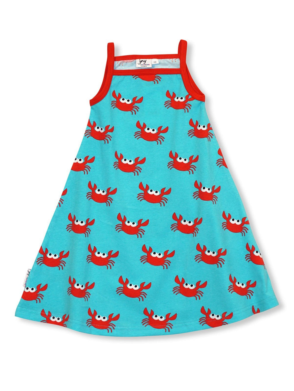 Crab dress Dresses JNY colourful kids