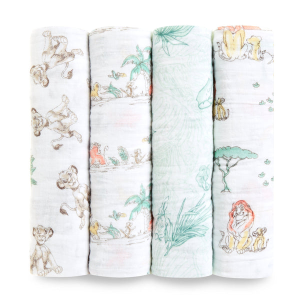 Muslins Lion King 4-pack