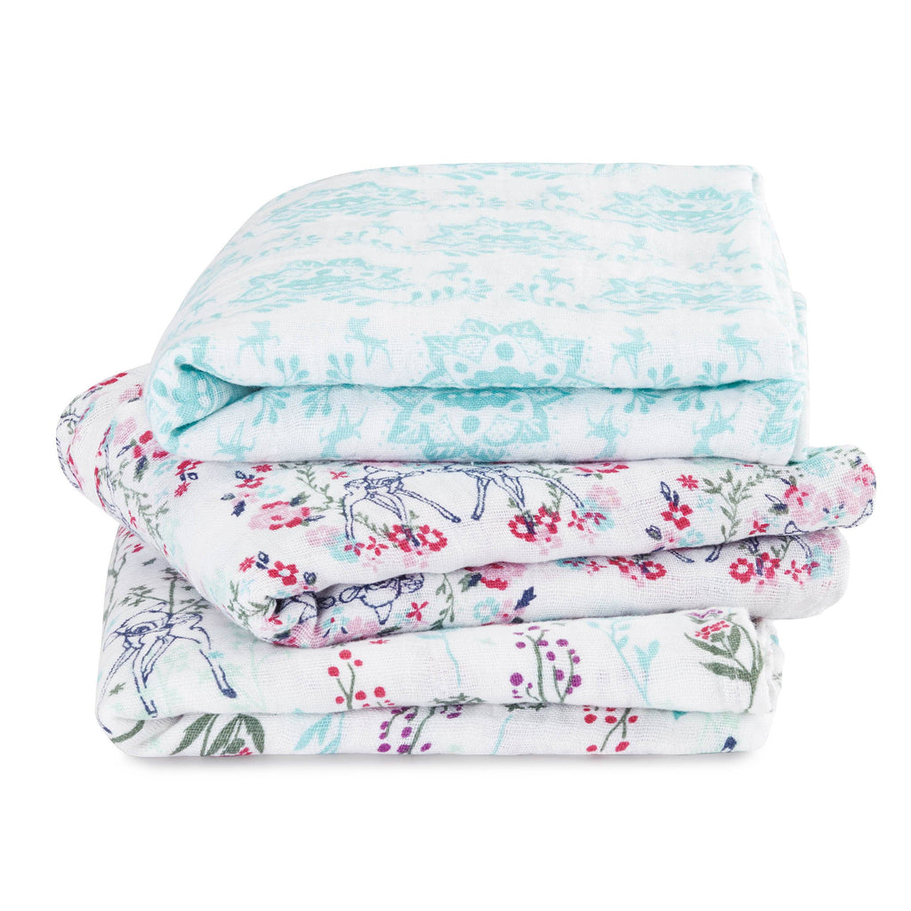 Muslin squares bambi 3-pack