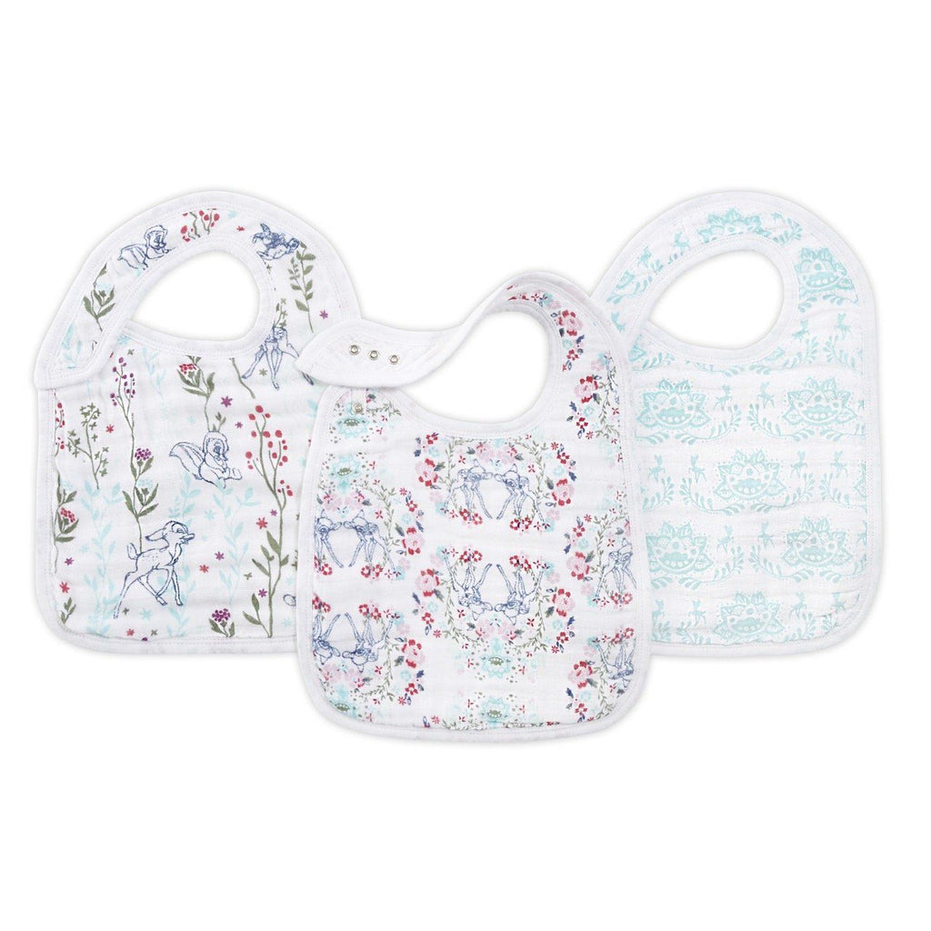 Snap bib Bambi - 3 pack