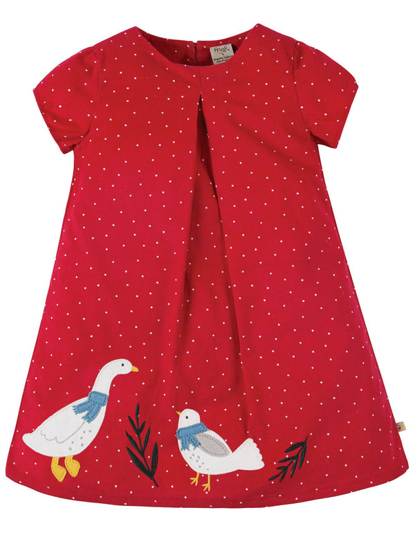 Holly cord dress  duck Frugi