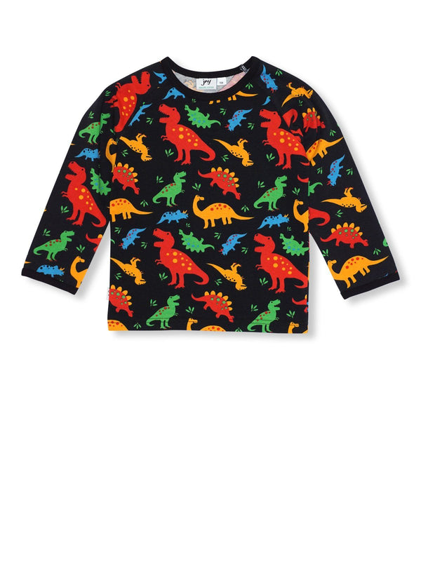 Shirt long sleeve dino