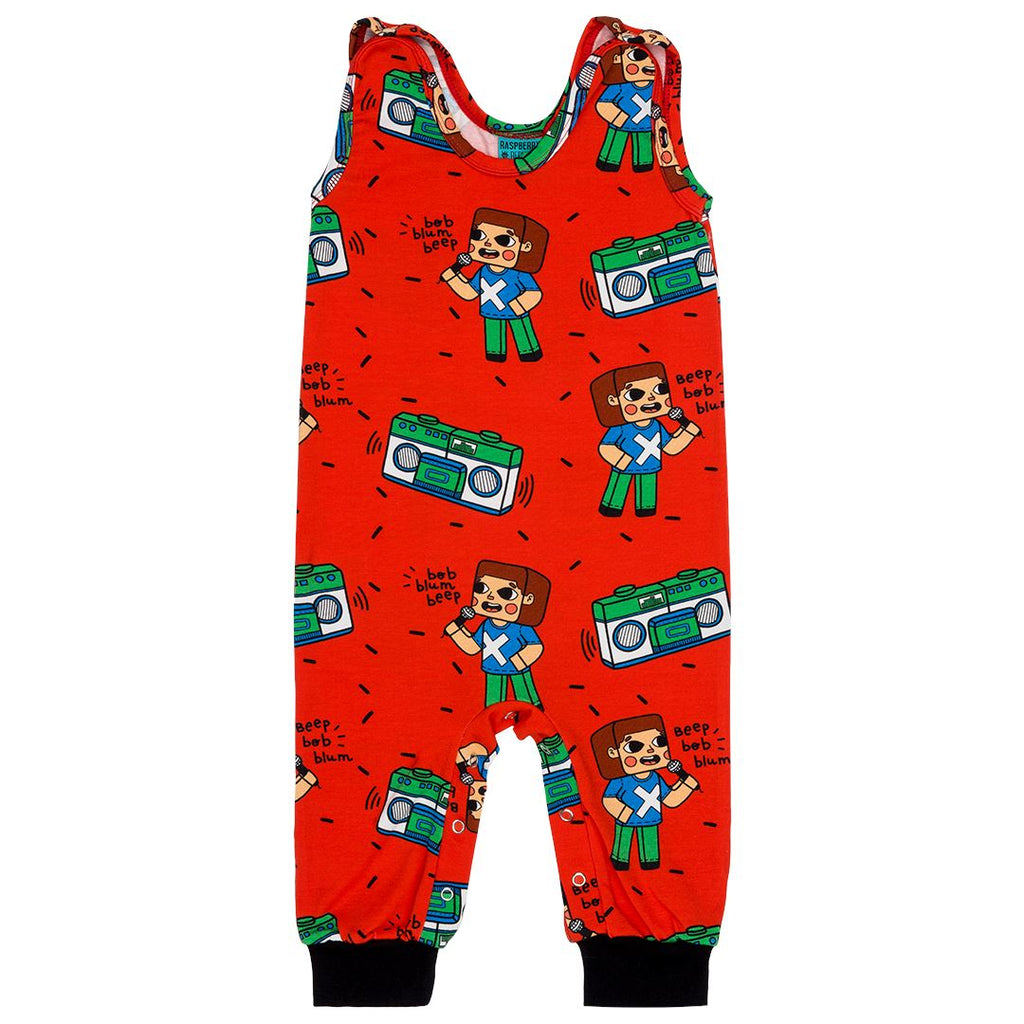 Dungarees brick party Raspberry Republic Dungarees Raspberry Republic