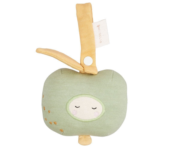 Activity toy rattle green apple Fabelab Toys Fabelab