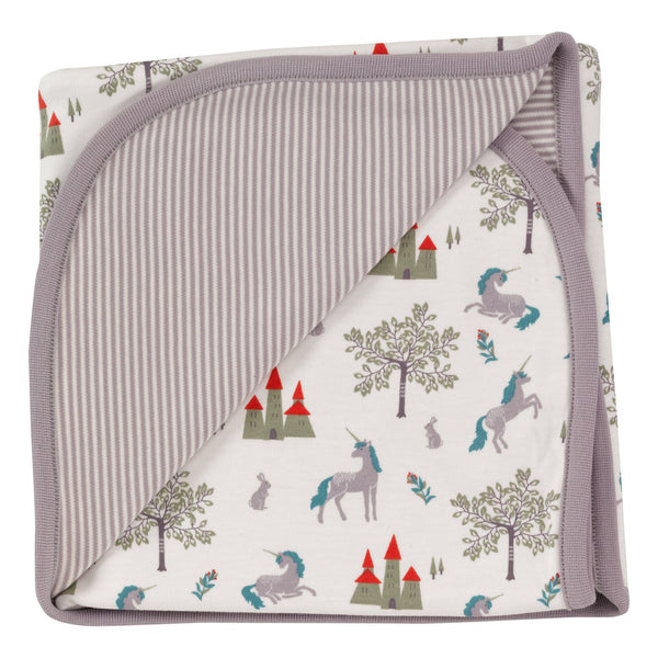 Reversible fairy tale blanket