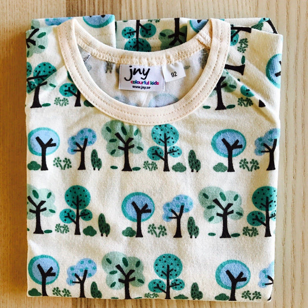 Top long sleeve summer tree