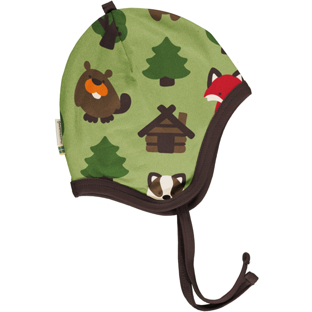 Green forest helmet hat Maxomorra Hat Maxomorra