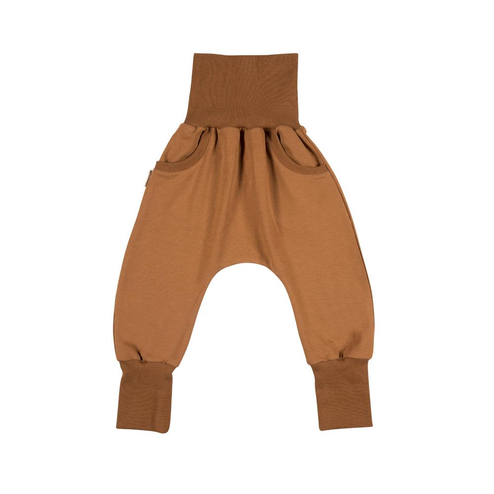 Cinnamon baggy pants with pockets Malinami Bottoms Malinami