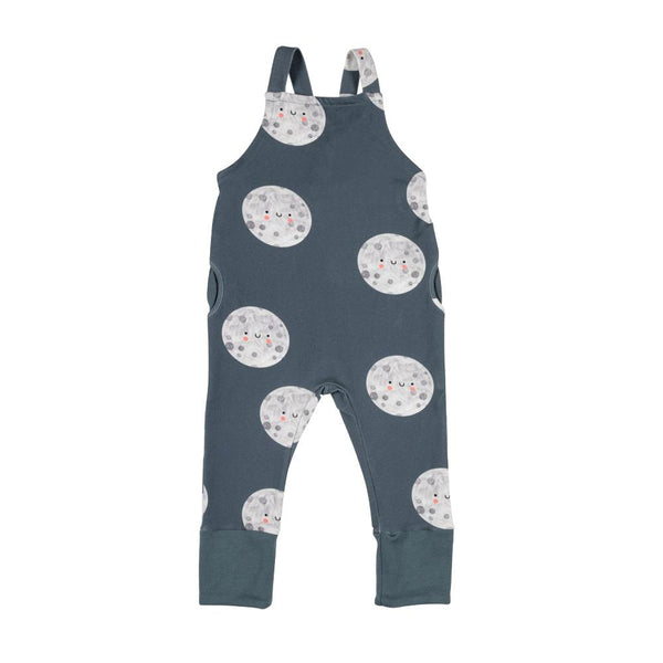 Moon on blue dungarees don't grow up Dungarees don't grow up