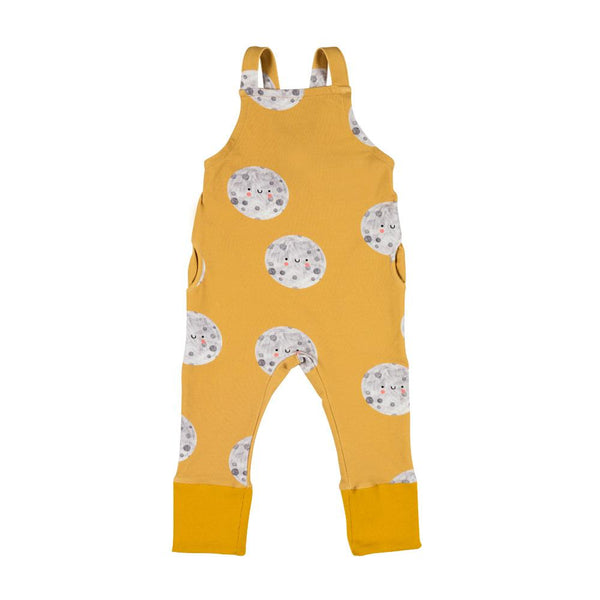 Moon on yellow dungarees don't grow up Dungarees don't grow up