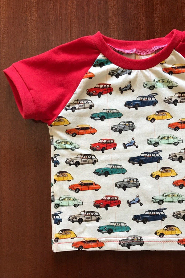 T-shirt old cars Tops Atelier Parlee