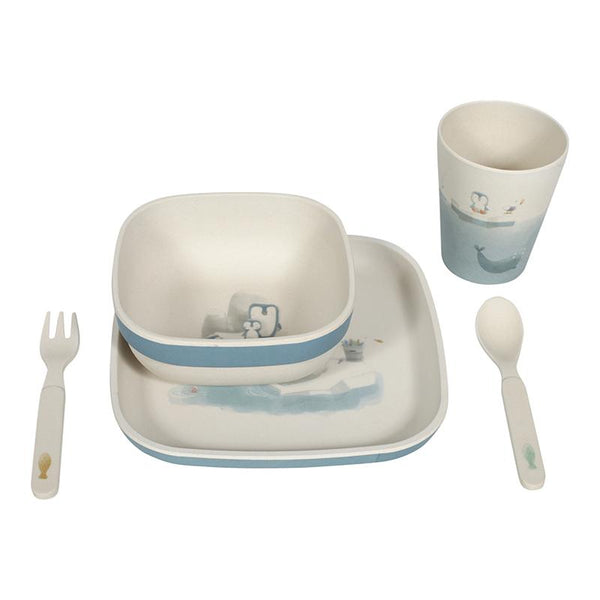 Bamboo tableware set Polar Little Dutch dinnerware Little Dutch