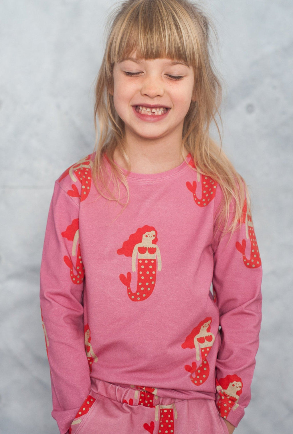 Long sleeve mermaid don't grow up Tops don't grow up