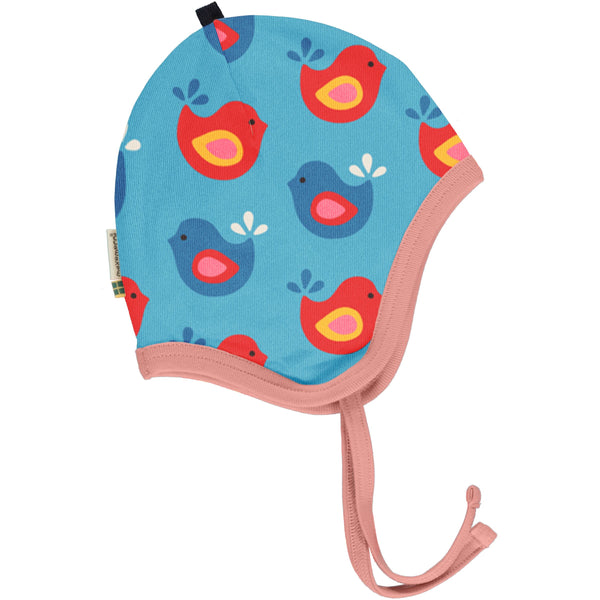 Bright birds helmet hat Maxomorra Hat Maxomorra
