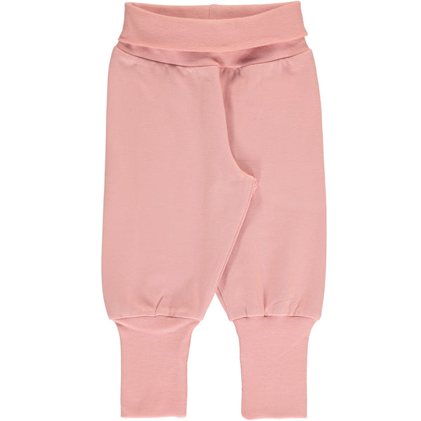 Rib pants dusty rose Maxomorra