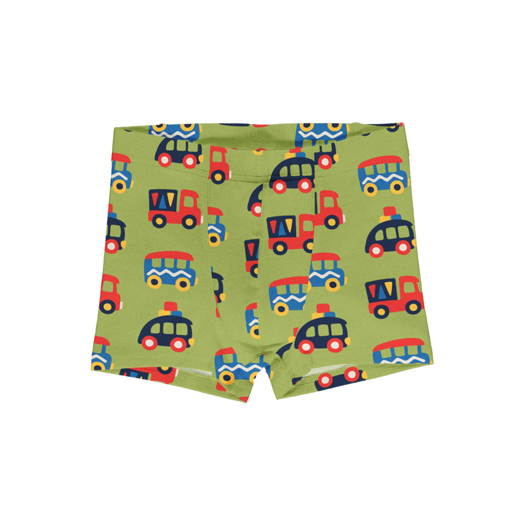 Boxer shorts colorful cars Maxomorra Underwear Maxomorra