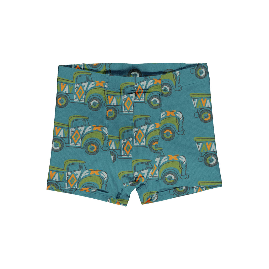 Boxer shorts painted truck Maxomorra Underwear Maxomorra