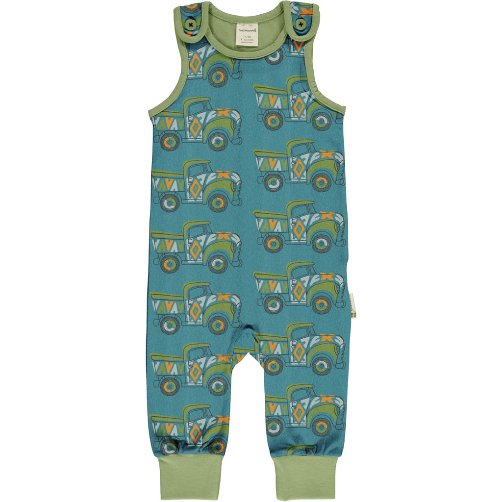 Dungarees painted truck Maxomorra Dungarees Maxomorra
