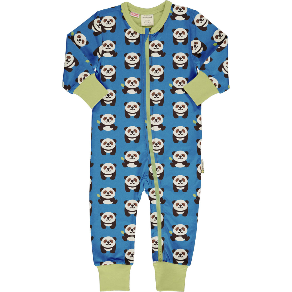 Rompersuit playful panda Maxomorra playsuit Maxomorra