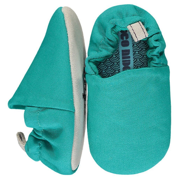 Marine green mini shoes Poco Nido Baby shoes Poco Nido