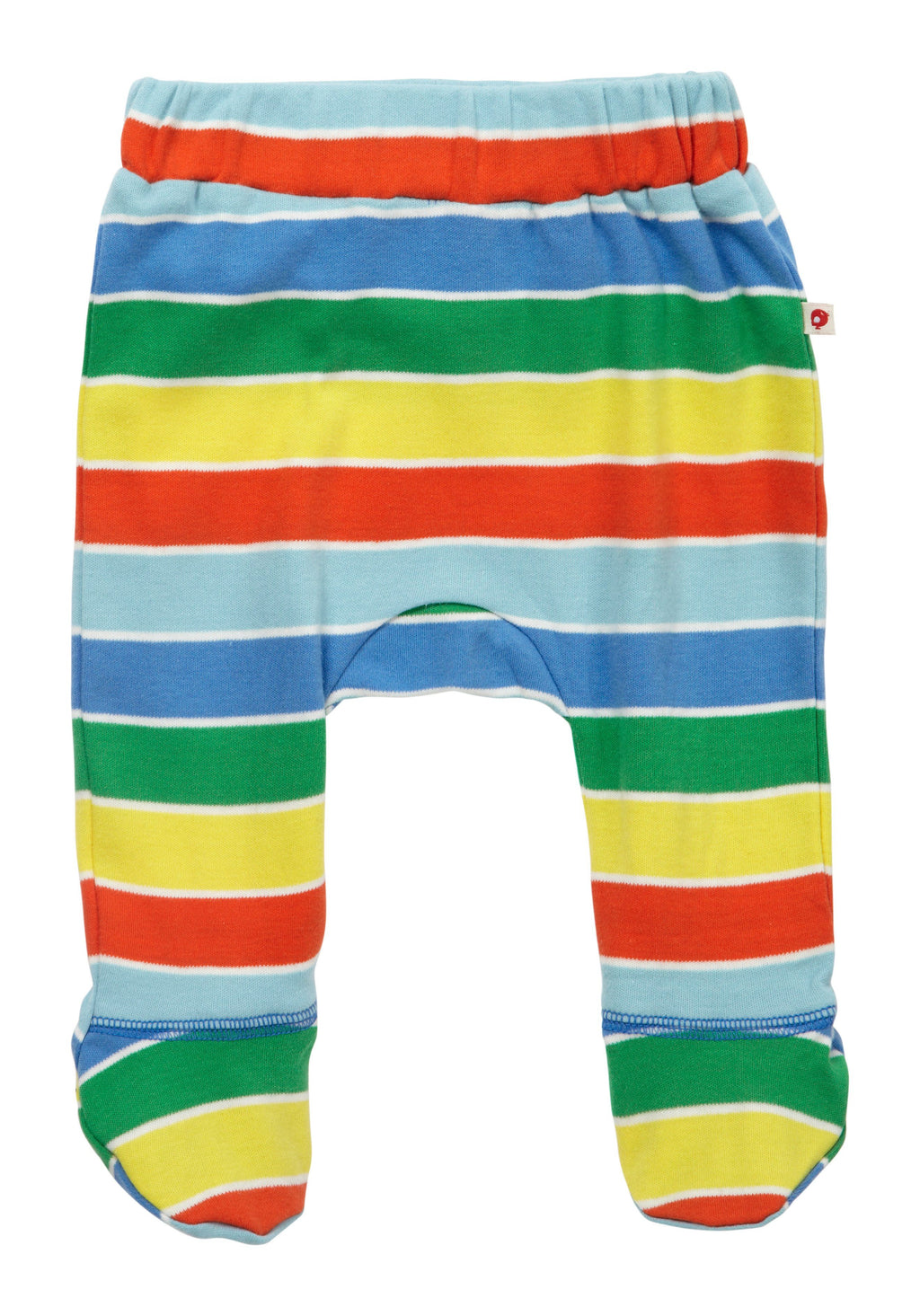 Footed baby trousers - rainbow