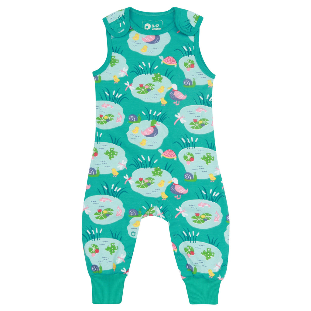 Pondlife dungarees Piccalilly Dungarees Piccalilly