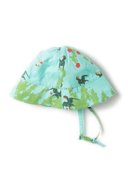 Under the willows  sunhat