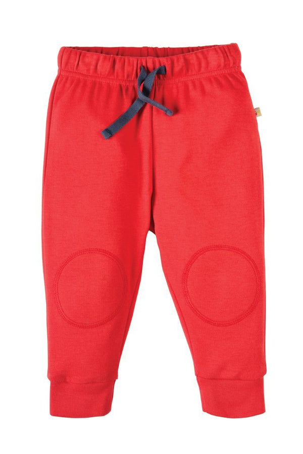 Kneepatch crawlers red Bottoms Frugi