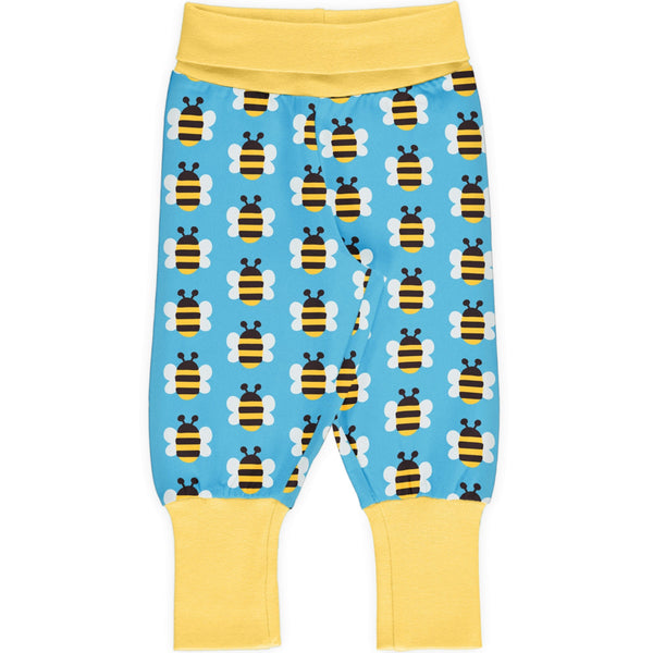 Humble bumblebee rib pants Maxomorra Bottoms Maxomorra
