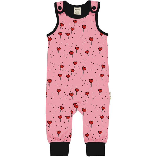 Lollipop love dungarees Maxomorra Dungarees Maxomorra