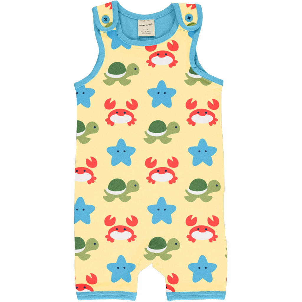 Beach buddies short dungarees Maxomorra Dungarees Maxomorra