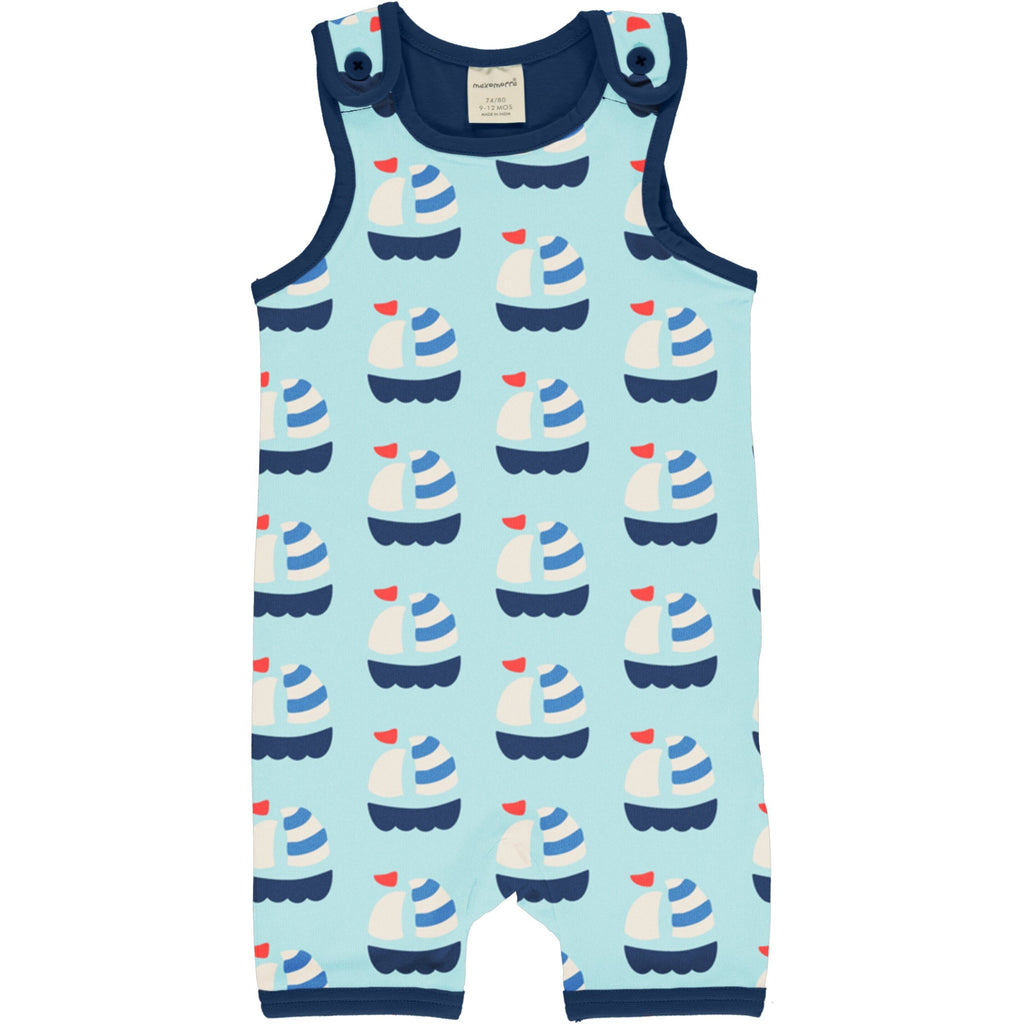 Sailboat short dungarees Maxomorra Dungarees Maxomorra