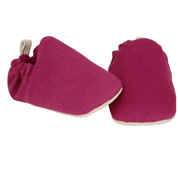 Plum mini shoes