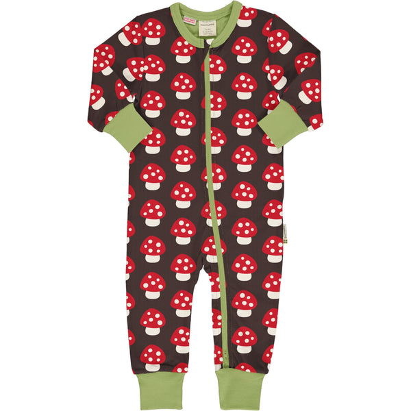 Mushroom rompersuit Maxomorra classics Playsuit Maxomorra