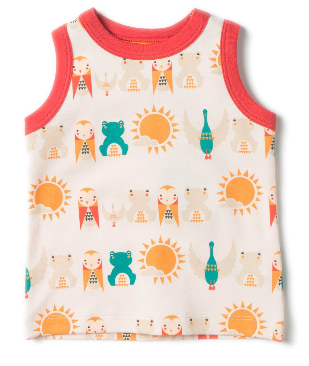 River friends sunshine vest
