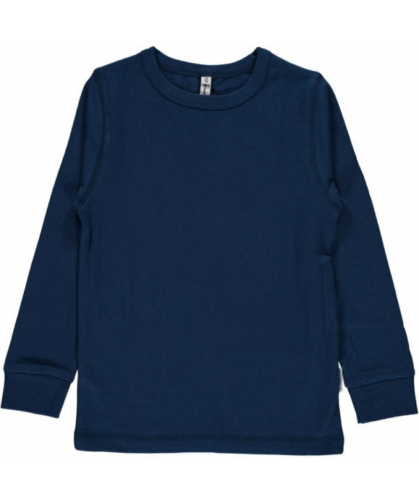 Dark blue top Tops Maxomorra