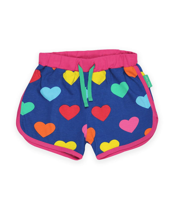 Multi heart running shorts Toby tiger Bottoms Toby tiger