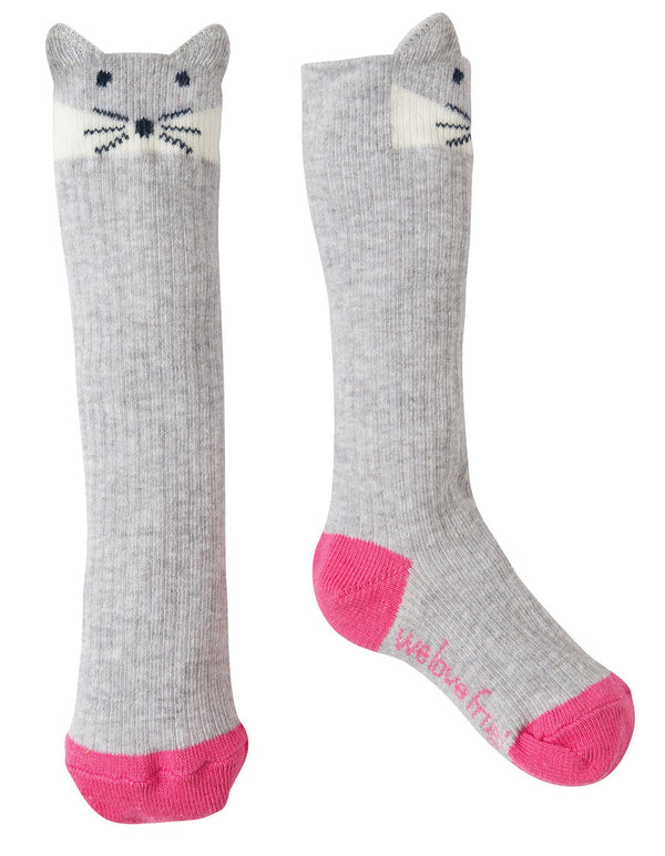 Friendly face socks - arctic fox