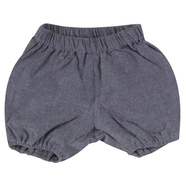 Bloomers chambray blue Pigeon Bottoms Pigeon Organics