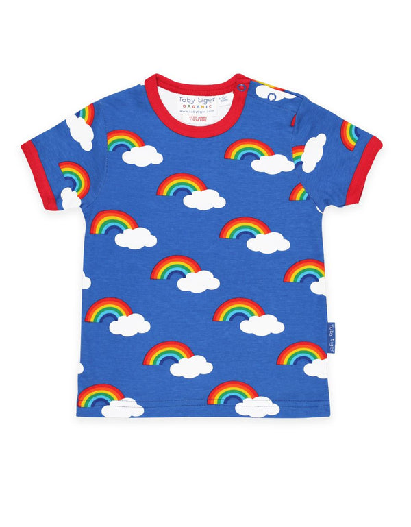 T-shirt multi rainbow Toby tiger Tops Toby tiger