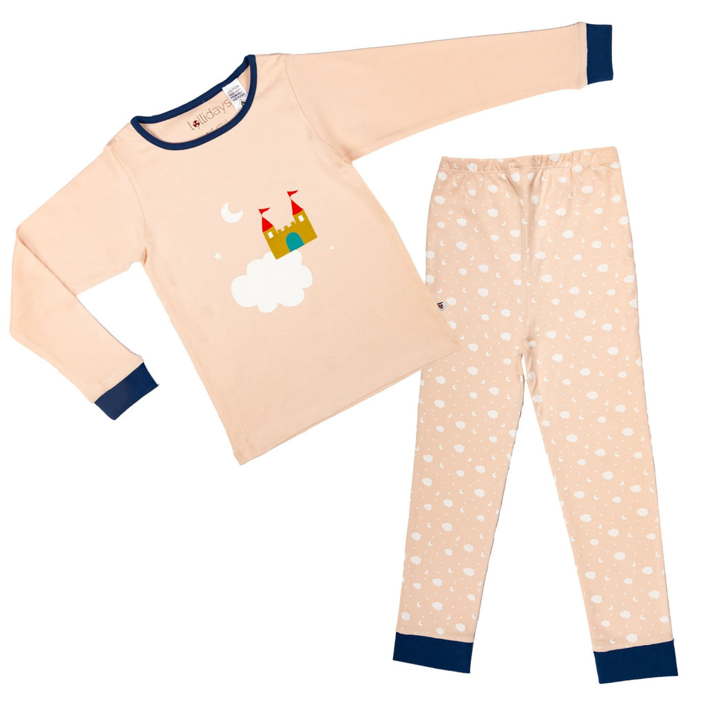 Magical castle pyjamas set Lollidays pyjamas Lollidays