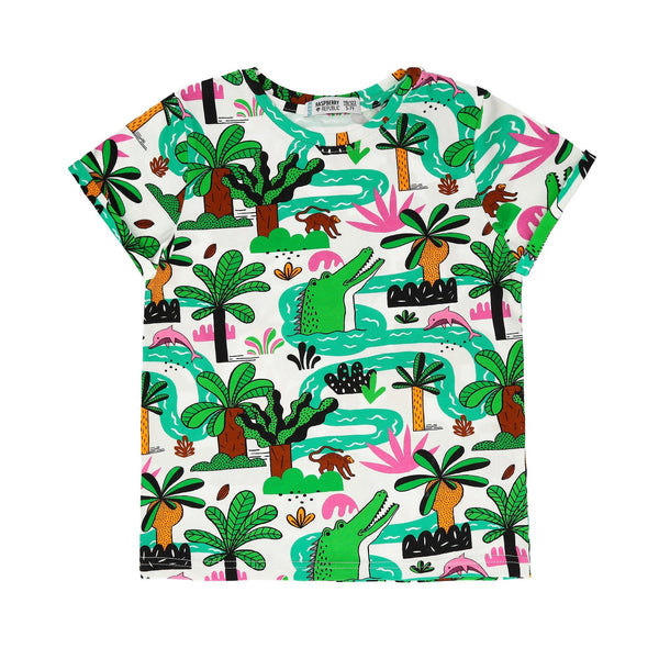 T-shirt amazing Amazonia Raspberry Republic
